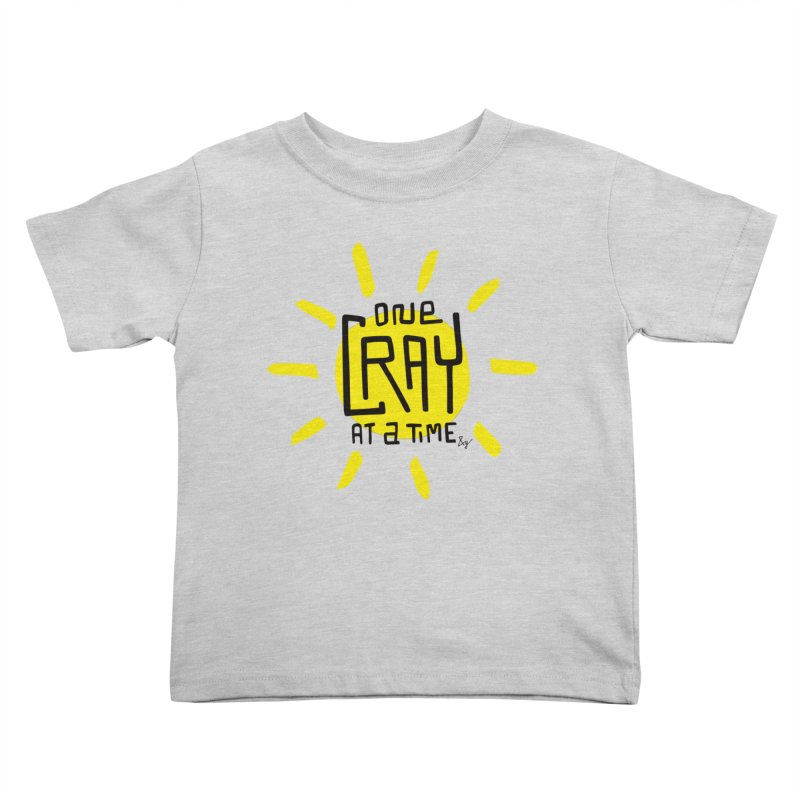 One Cray at a Time Kids Toddler T-Shirt by No Agenda by Andy Rado