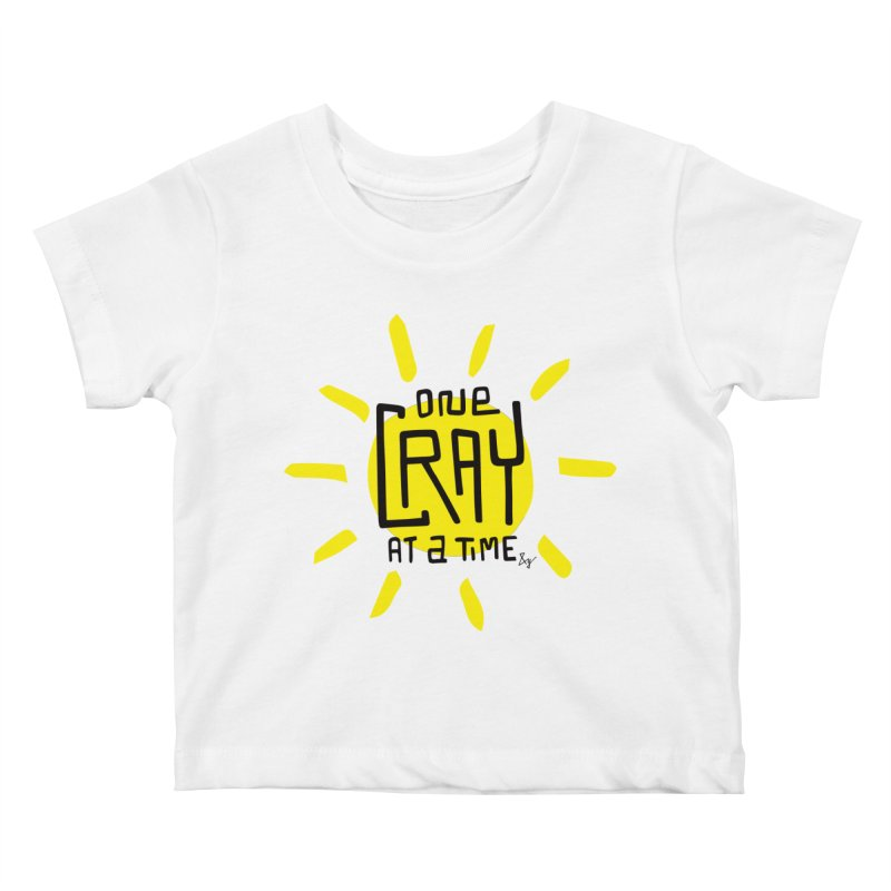 One Cray at a Time Kids Baby T-Shirt by No Agenda by Andy Rado