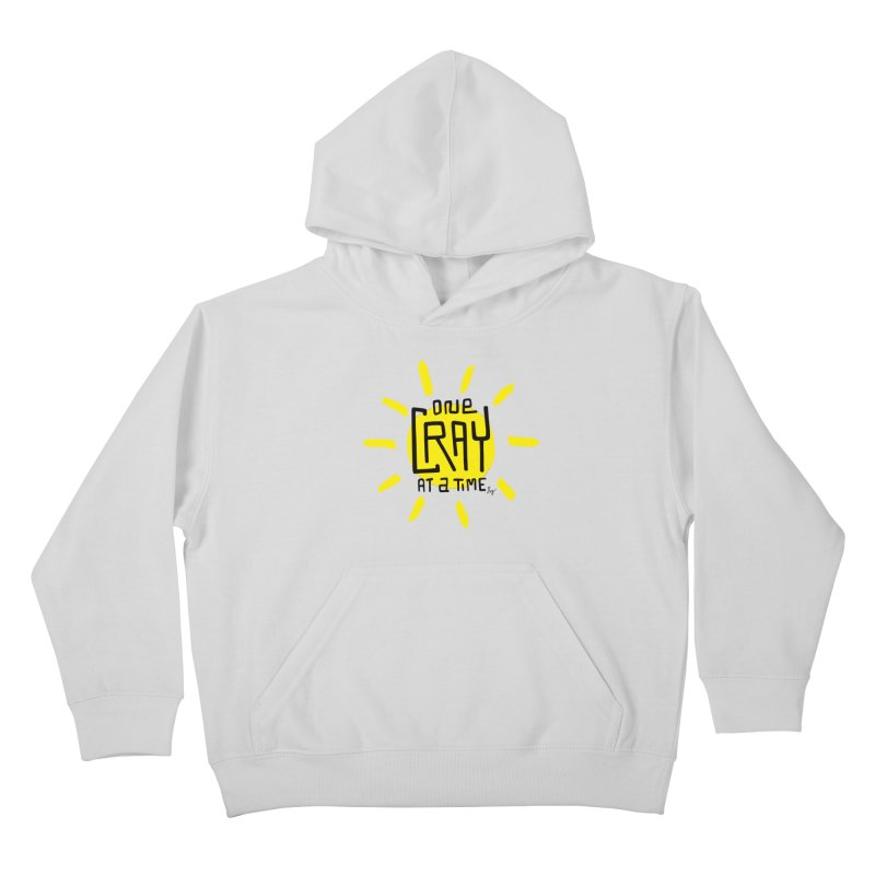 One Cray at a Time Kids Pullover Hoody by No Agenda by Andy Rado