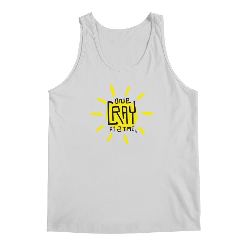 One Cray at a Time Men's Regular Tank by No Agenda by Andy Rado