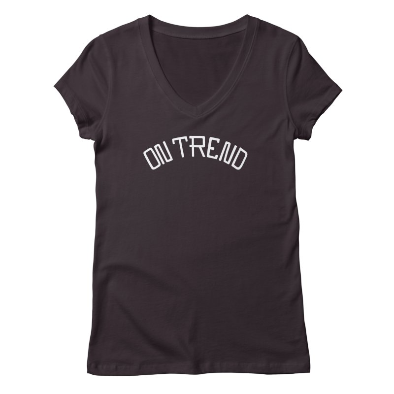 On Trend Women's Regular V-Neck by No Agenda by Andy Rado