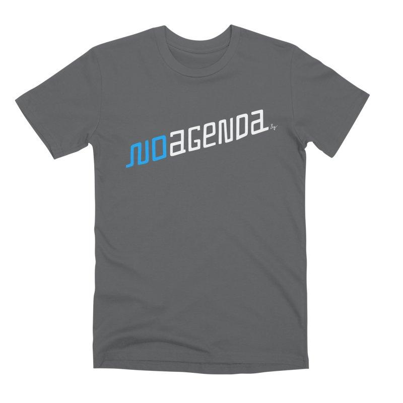 No Agenda Men's Premium T-Shirt by No Agenda by Andy Rado
