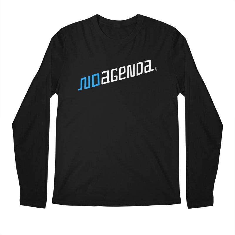 No Agenda Men's Regular Longsleeve T-Shirt by No Agenda by Andy Rado