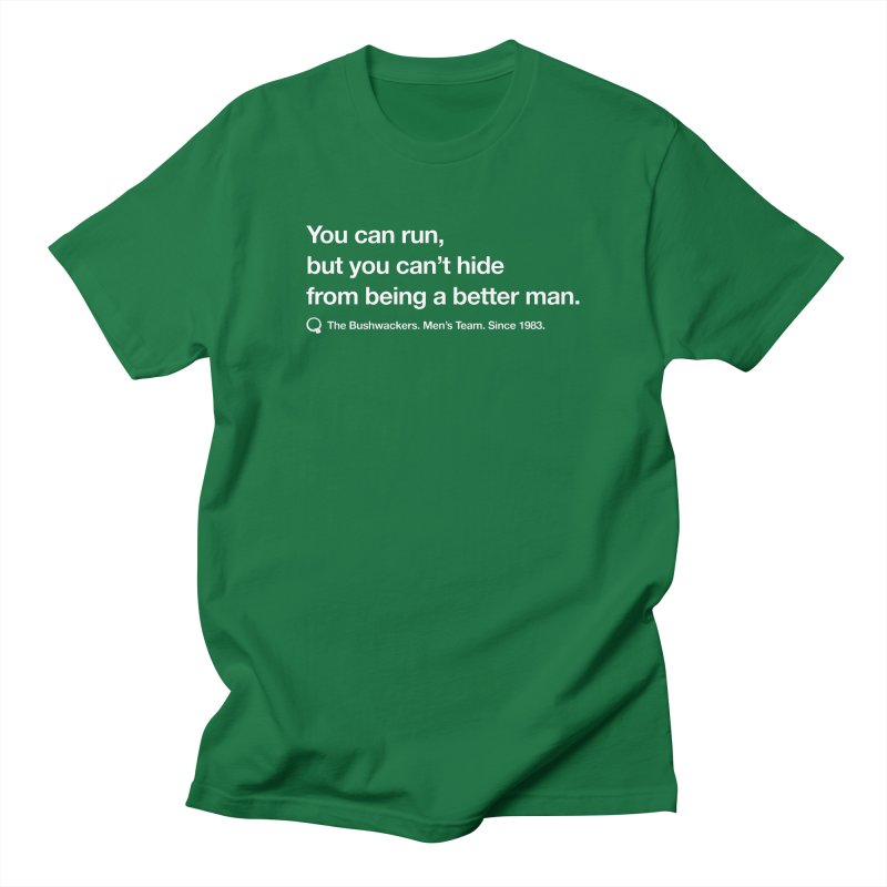 Bushwackers Color Men's T-Shirt by &y   Andy Rado