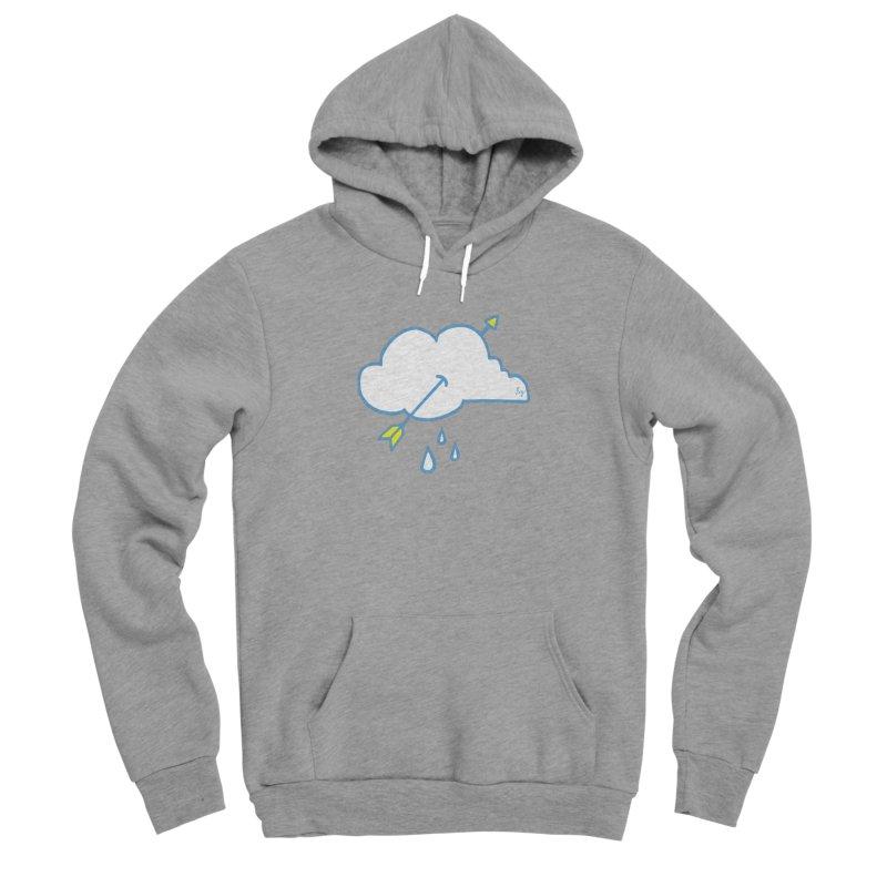 Cloud Lover Men's Sponge Fleece Pullover Hoody by No Agenda by Andy Rado