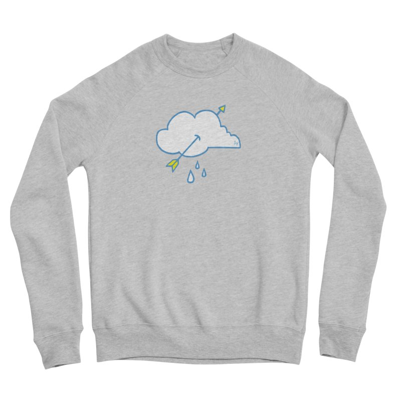 Cloud Lover Men's Sponge Fleece Sweatshirt by No Agenda by Andy Rado