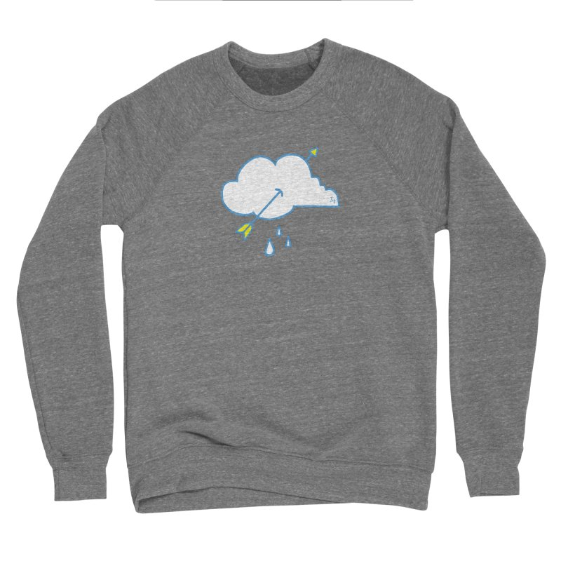 Drought Breaker Men's Sponge Fleece Sweatshirt by No Agenda by Andy Rado