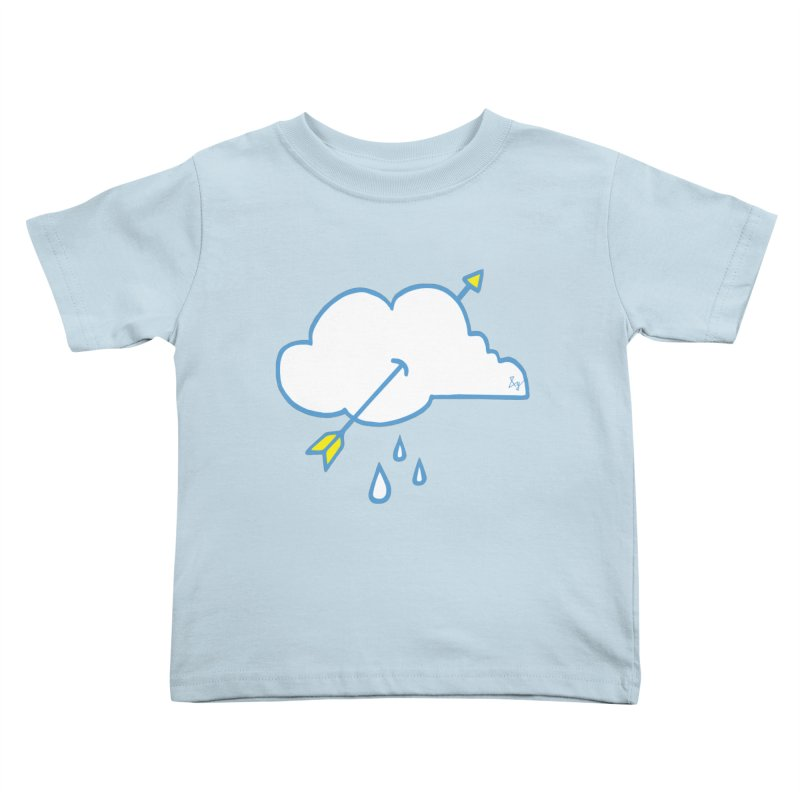 Cloud Lover Kids Toddler T-Shirt by No Agenda by Andy Rado