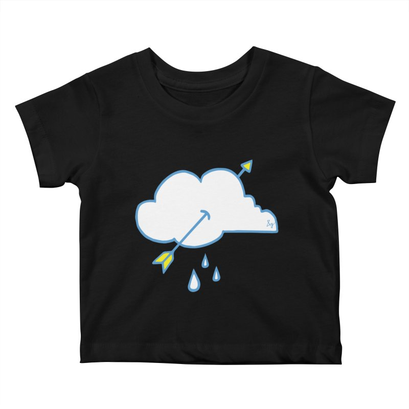 Cloud Lover Kids Baby T-Shirt by No Agenda by Andy Rado