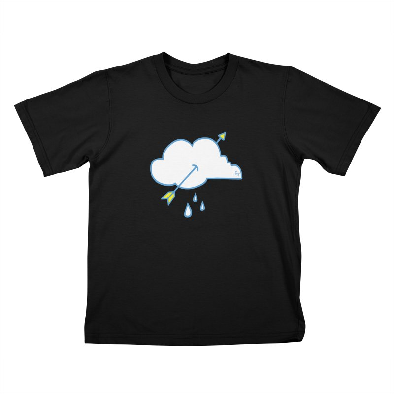 Drought Breaker Kids T-Shirt by No Agenda by Andy Rado