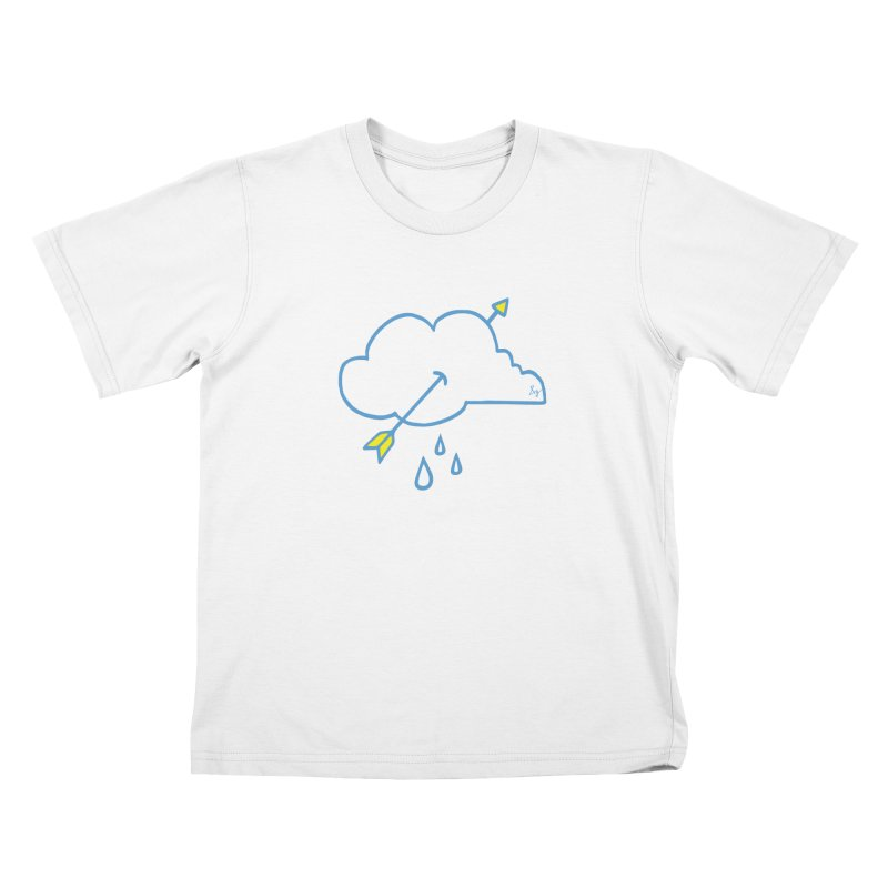 Cloud Lover Kids T-Shirt by No Agenda by Andy Rado