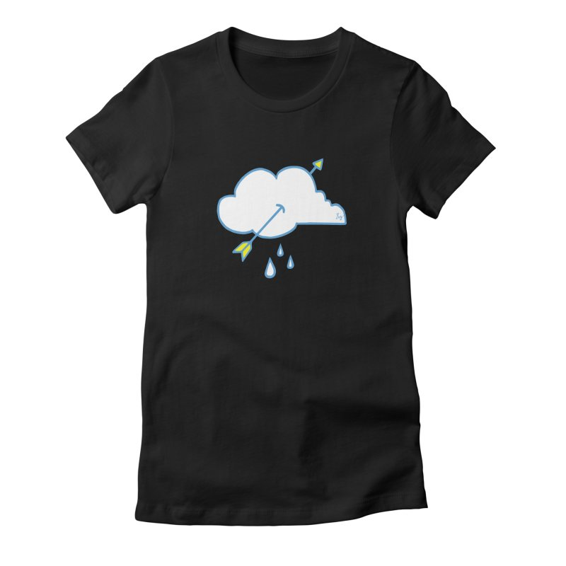 Cloud Lover Women's Fitted T-Shirt by No Agenda by Andy Rado