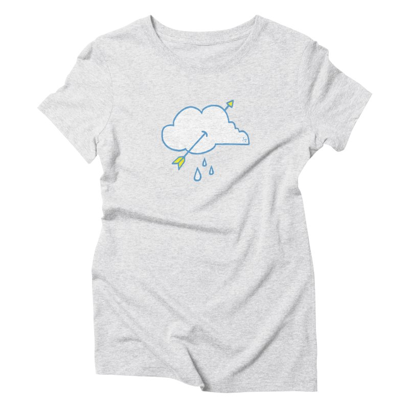 Cloud Lover Women's Triblend T-Shirt by No Agenda by Andy Rado