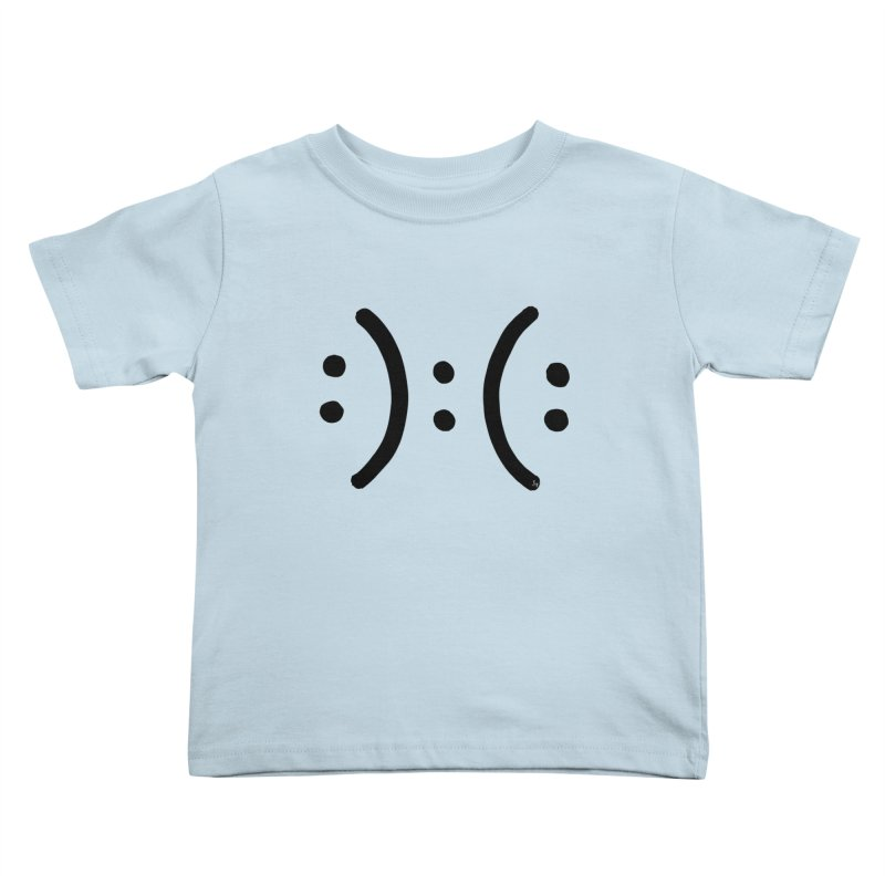 Modern Dilema Kids Toddler T-Shirt by No Agenda by Andy Rado
