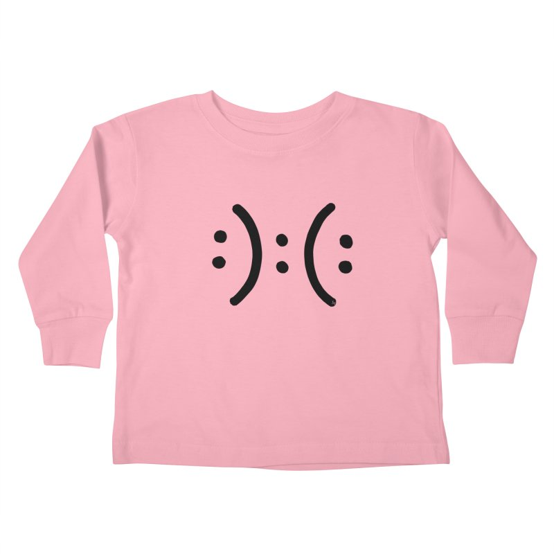 Modern Dilema Kids Toddler Longsleeve T-Shirt by No Agenda by Andy Rado