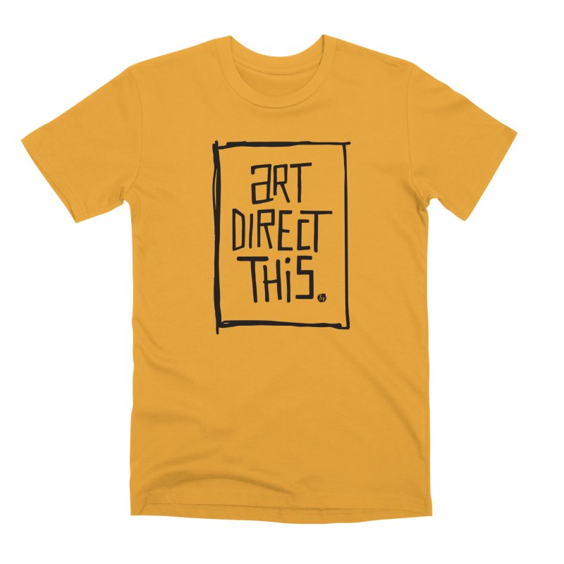 Art Direct This Men's Premium T-Shirt by No Agenda by Andy Rado