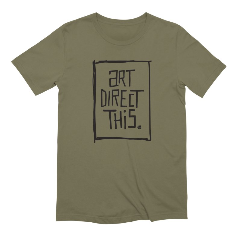 Art Direct This Men's Extra Soft T-Shirt by No Agenda by Andy Rado
