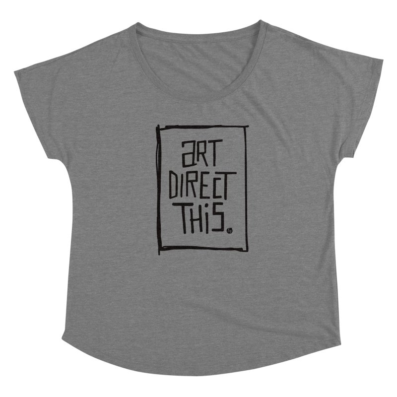 Art Direct This Women's Scoop Neck by &y   Andy Rado