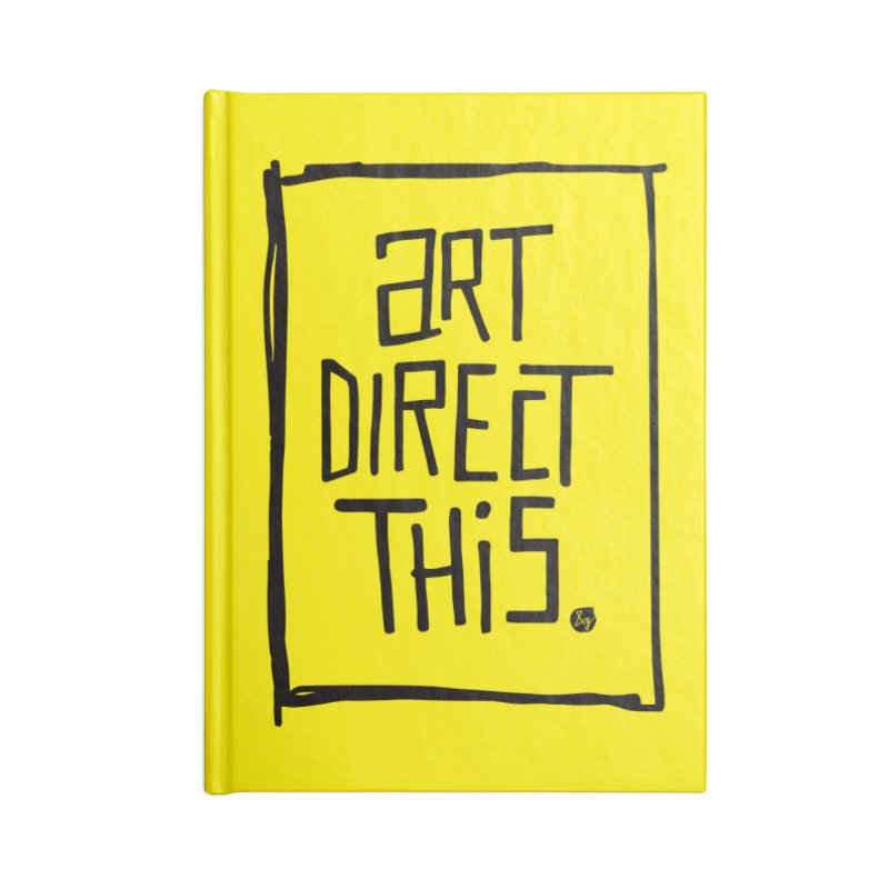 Art Direct This Accessories Notebook by No Agenda by Andy Rado