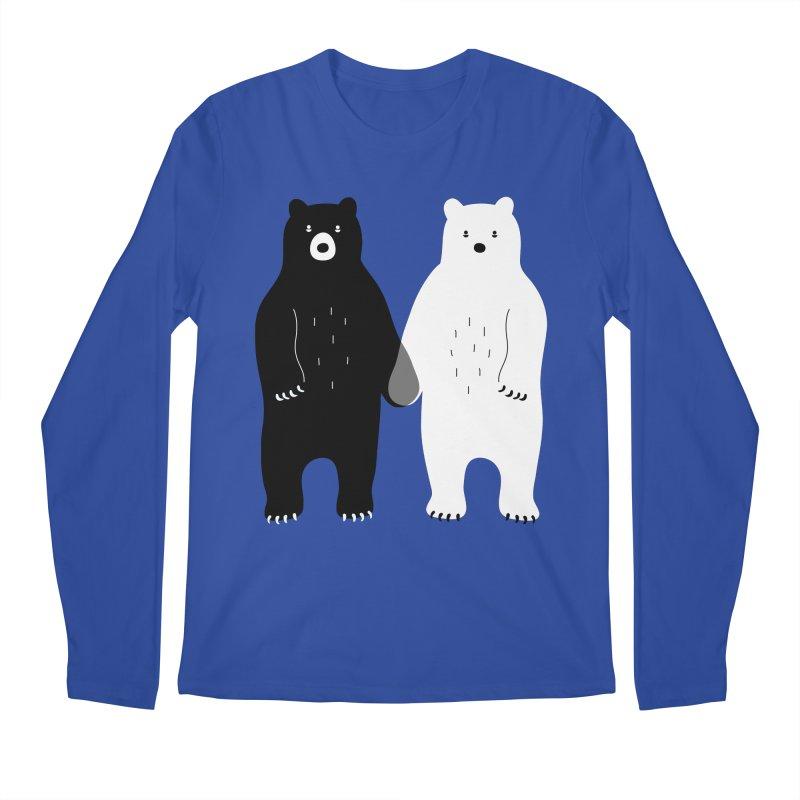 Gray Men's Longsleeve T-Shirt by andywestface's Artist Shop