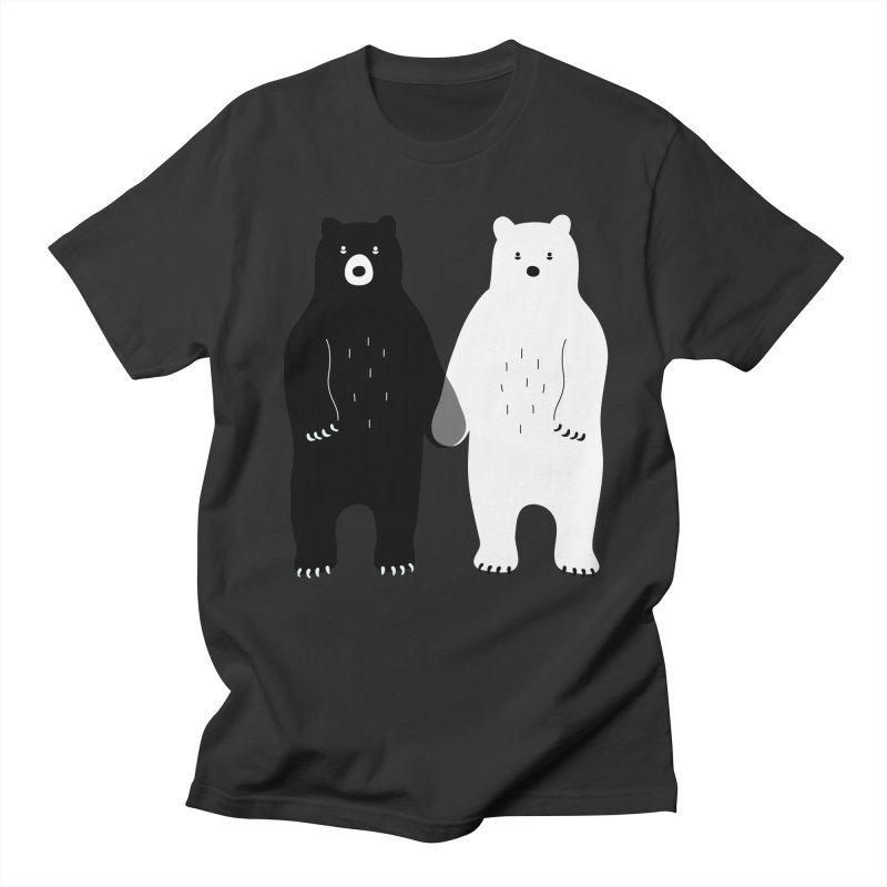 Gray Men's T-Shirt by andywestface's Artist Shop