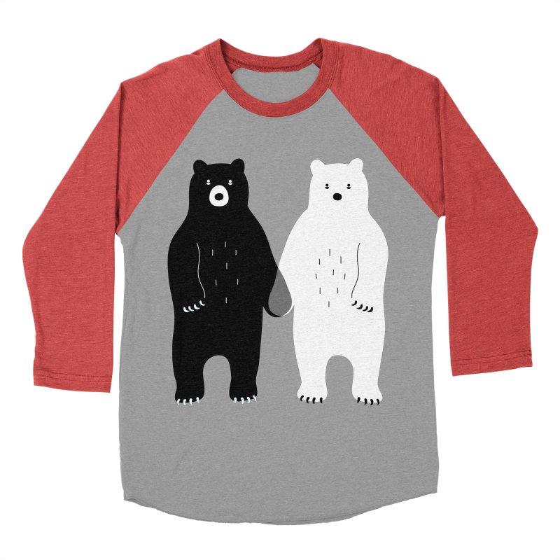 Gray Men's Baseball Triblend T-Shirt by andywestface's Artist Shop