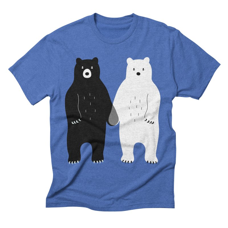 Gray Men's Triblend T-shirt by andywestface's Artist Shop