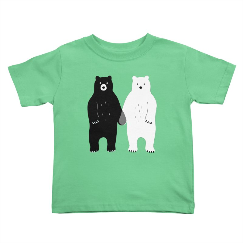 Gray Kids Toddler T-Shirt by andywestface's Artist Shop