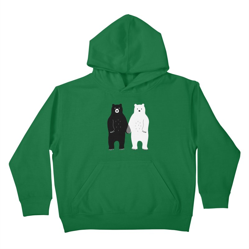 Gray Kids Pullover Hoody by andywestface's Artist Shop