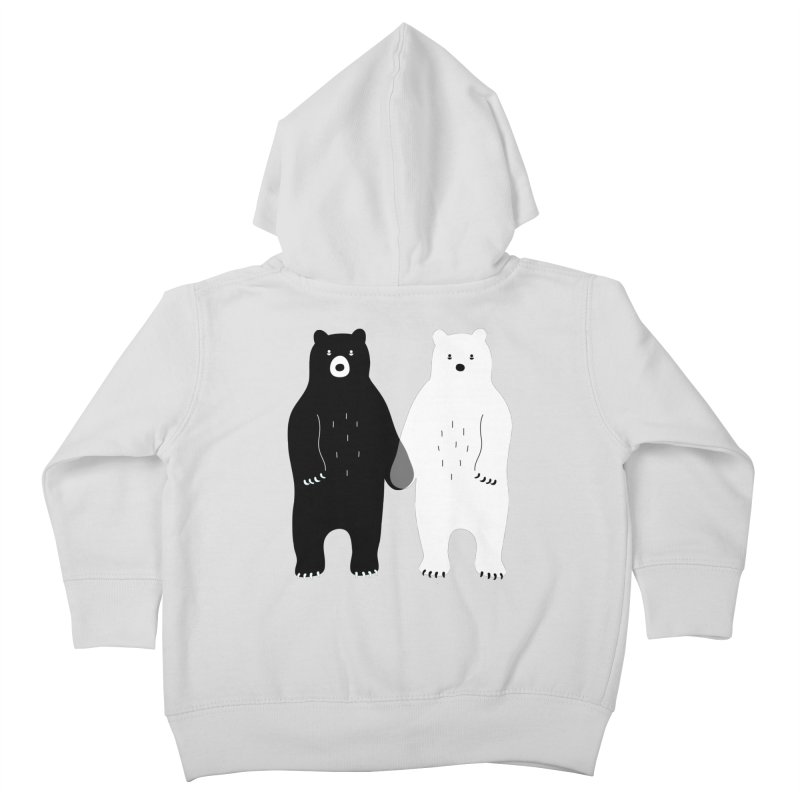 Gray Kids Toddler Zip-Up Hoody by andywestface's Artist Shop
