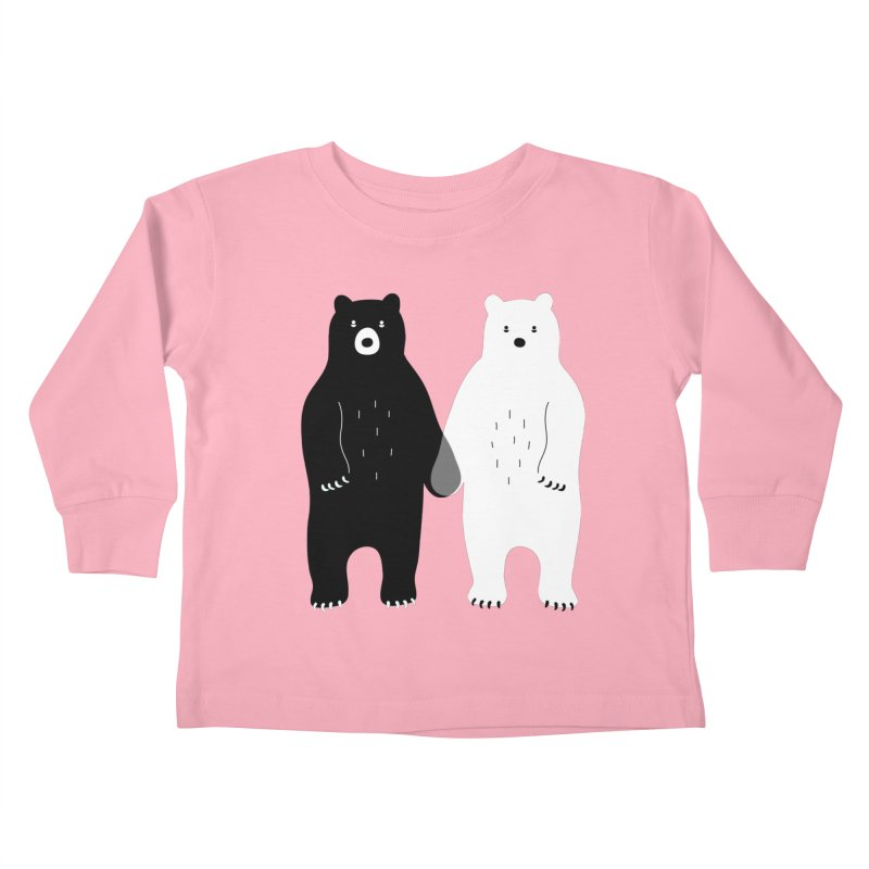 Gray Kids Toddler Longsleeve T-Shirt by andywestface's Artist Shop