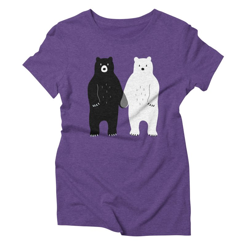 Gray Women's Triblend T-shirt by andywestface's Artist Shop