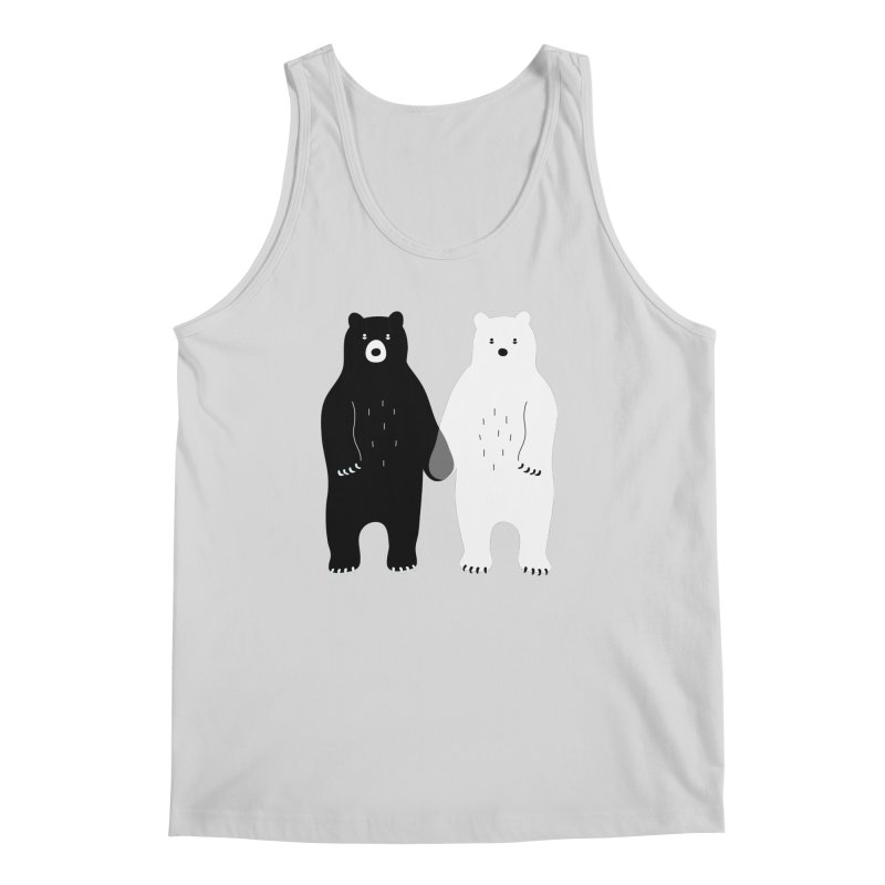 Gray Men's Tank by andywestface's Artist Shop