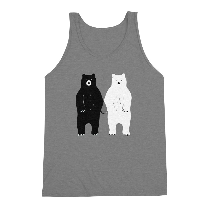 Gray Men's Triblend Tank by andywestface's Artist Shop
