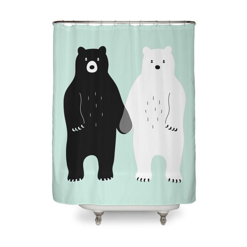 Gray Home Shower Curtain by andywestface's Artist Shop