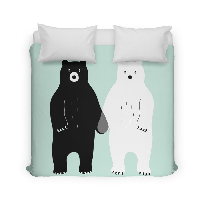 Gray Home Duvet by andywestface's Artist Shop