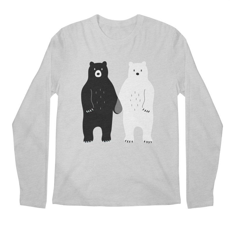 Gray Men's Regular Longsleeve T-Shirt by andywestface's Artist Shop