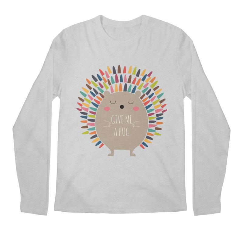 Give Me A Hug Men's Longsleeve T-Shirt by andywestface's Artist Shop
