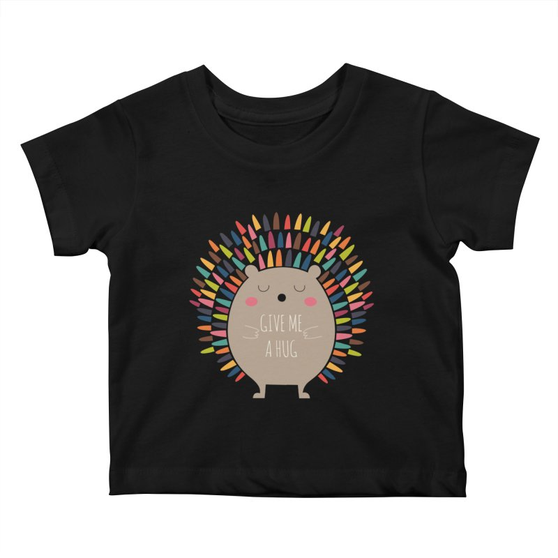 Give Me A Hug Kids Baby T-Shirt by andywestface's Artist Shop