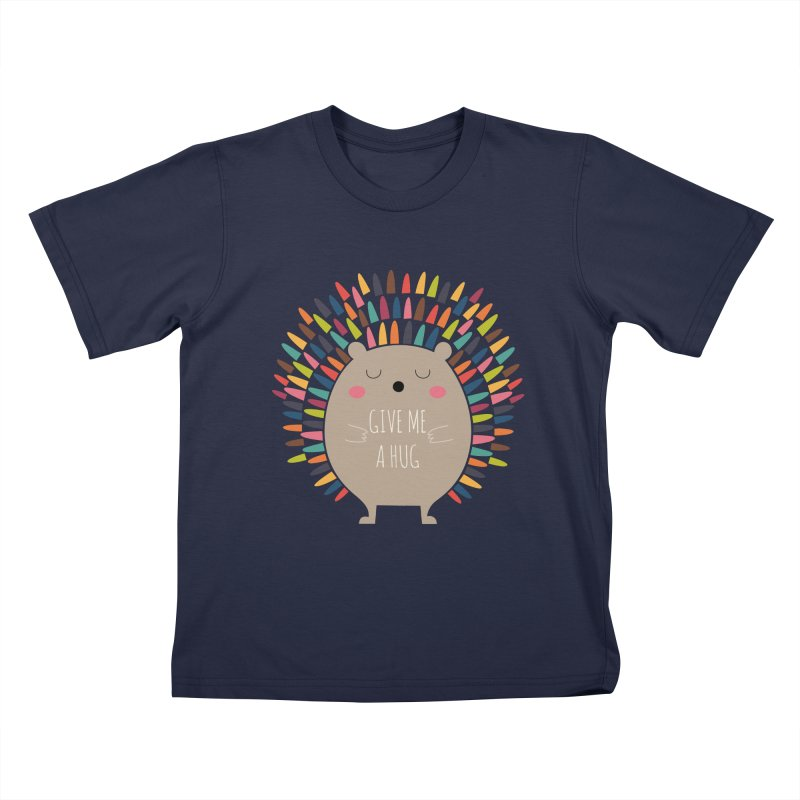Give Me A Hug Kids T-shirt by andywestface's Artist Shop