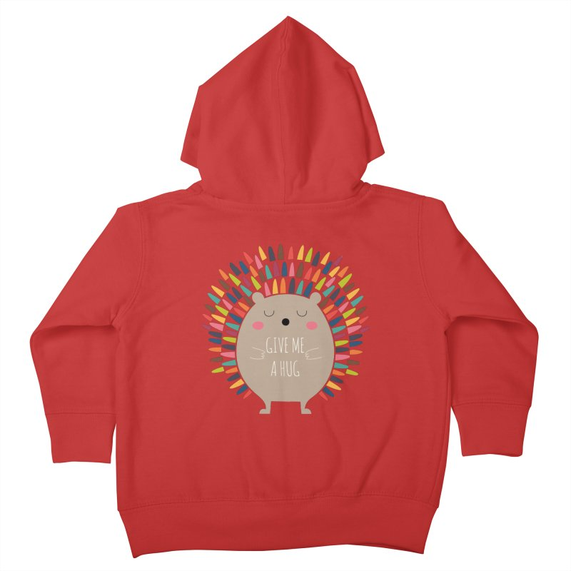 Give Me A Hug Kids Toddler Zip-Up Hoody by andywestface's Artist Shop