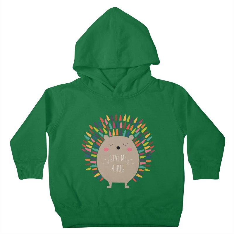Give Me A Hug Kids Toddler Pullover Hoody by andywestface's Artist Shop