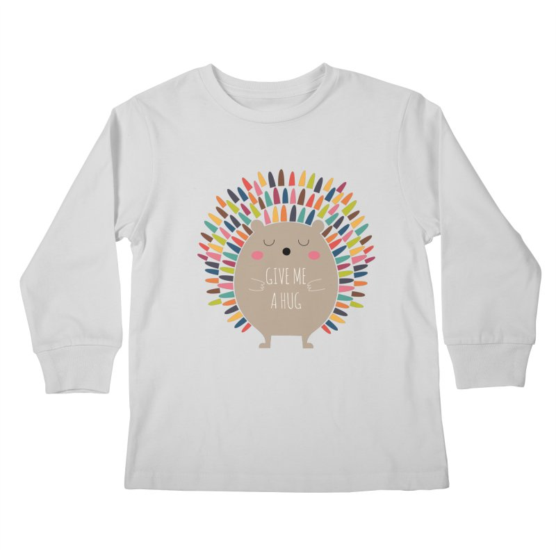 Give Me A Hug Kids Longsleeve T-Shirt by andywestface's Artist Shop