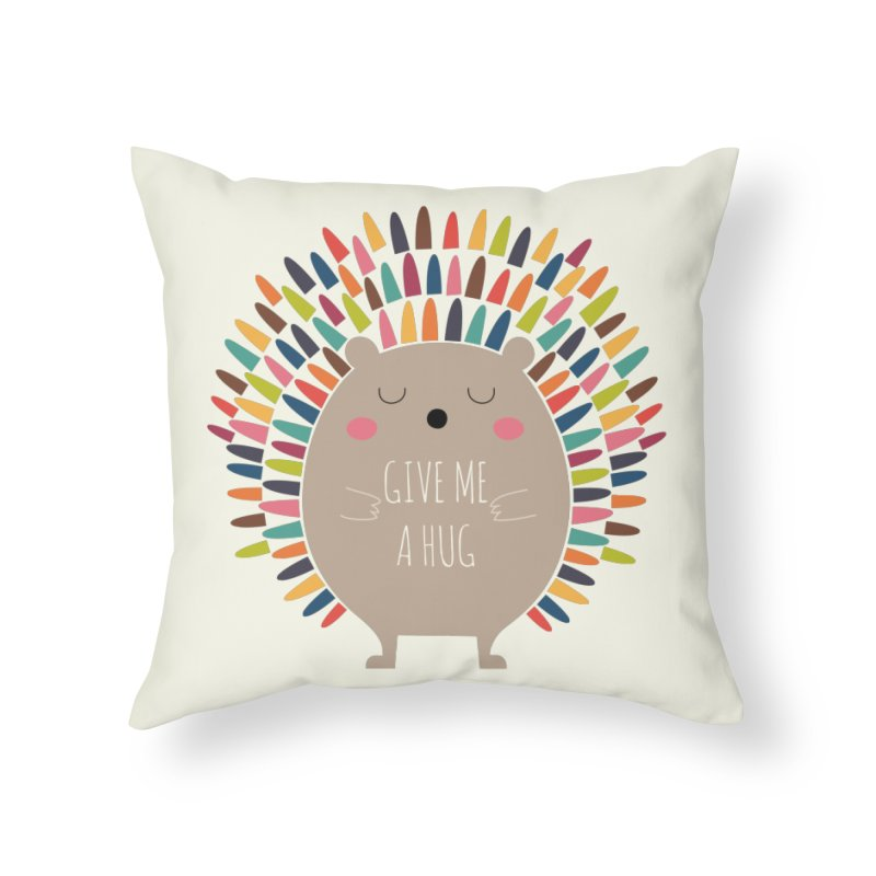 Give Me A Hug Home Throw Pillow by andywestface's Artist Shop