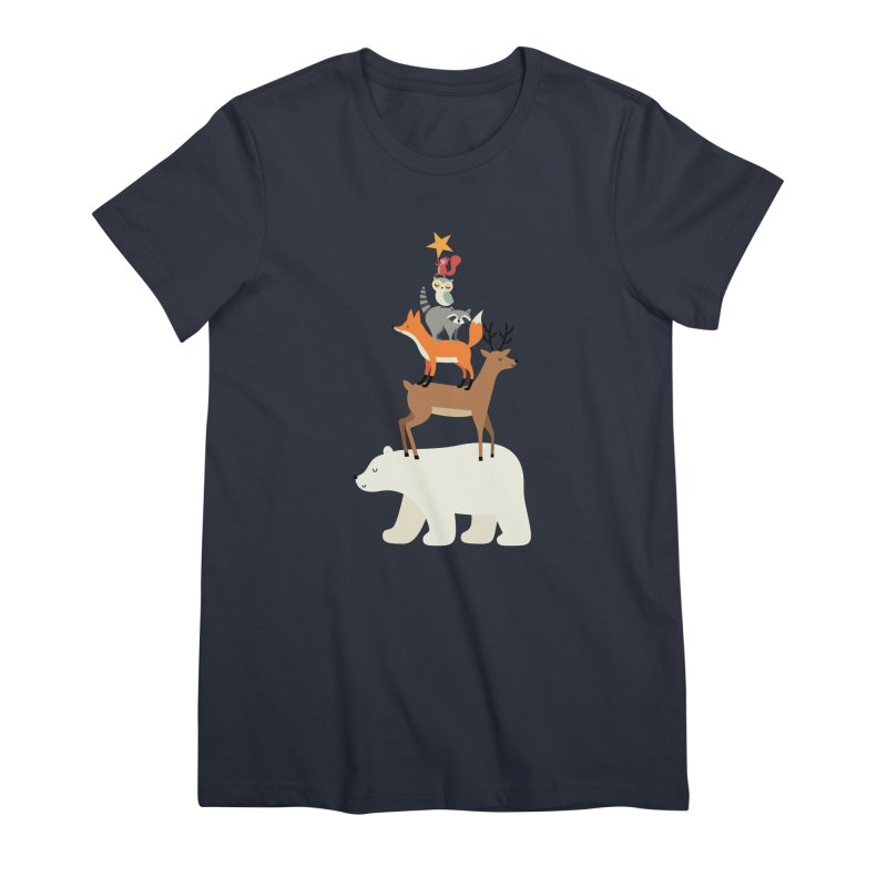 Picking Stars Women's Premium T-Shirt by andywestface's Artist Shop