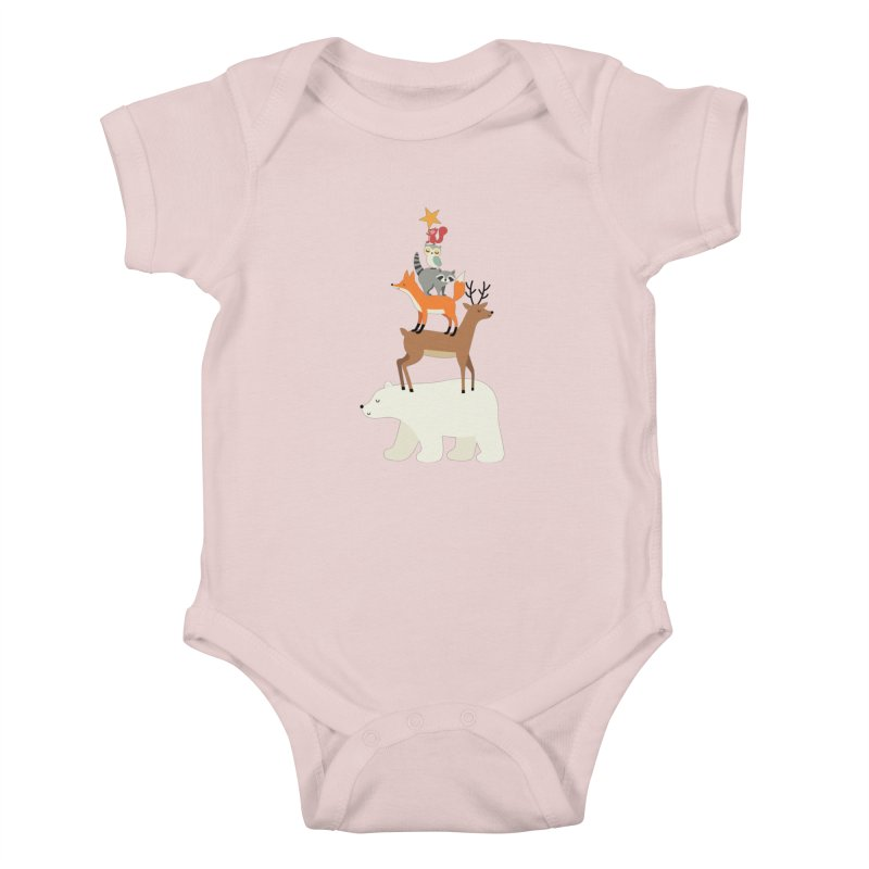 Picking Stars Kids Baby Bodysuit by andywestface's Artist Shop