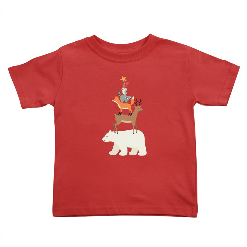Picking Stars Kids Toddler T-Shirt by andywestface's Artist Shop