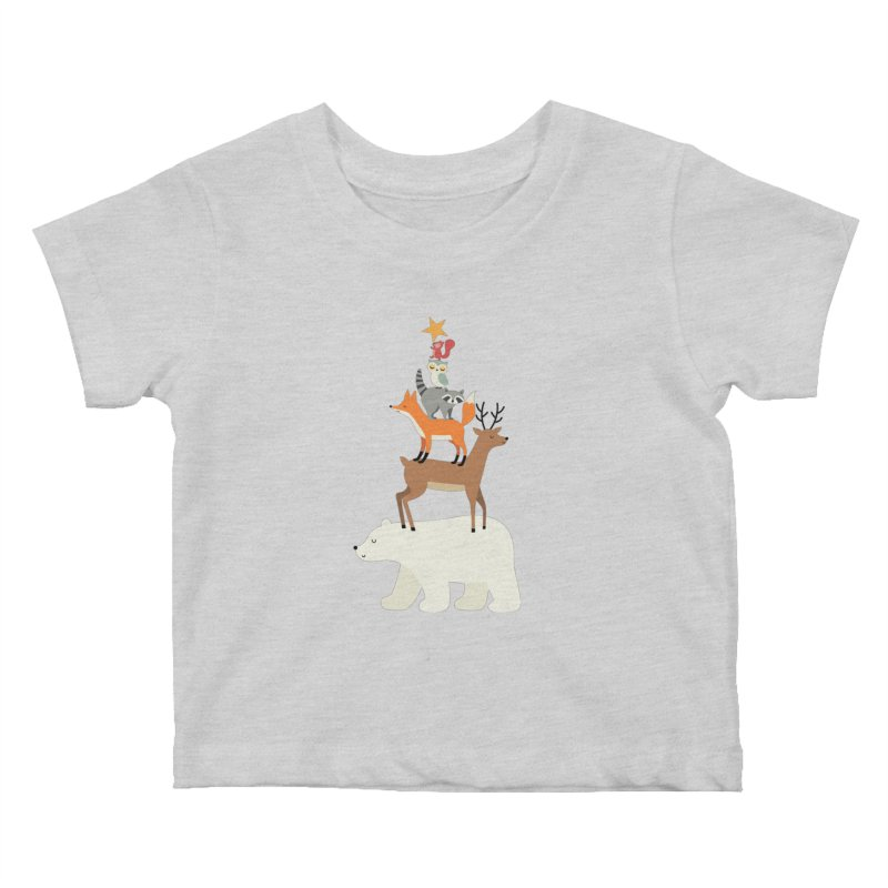Picking Stars Kids Baby T-Shirt by andywestface's Artist Shop