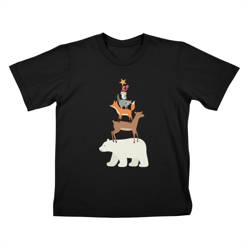 Picking Stars Kids T-Shirt by andywestface's Artist Shop