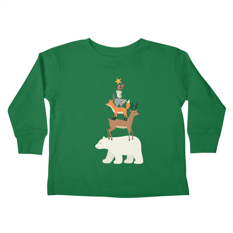 Picking Stars Kids Toddler Longsleeve T-Shirt by andywestface's Artist Shop